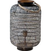 SOCKELLEUCHTE - Bronzefarben, Design, Textil/Metall (30/47/30cm)