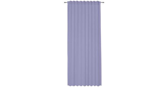 FERTIGVORHANG transparent  - Lila, Basics, Textil (135/245cm) - Esposa