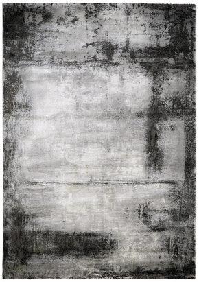 VÄVD MATTA 133/190 cm - silver, Design, plast (133/190cm) - Novel