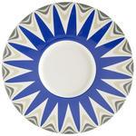 PLATZTELLER  30,2 cm  - Blau/Weiß, Basics, Keramik (30,2cm) - Novel