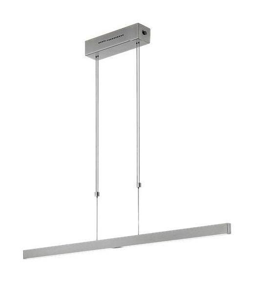LED-HÄNGELEUCHTE - Nickelfarben, KONVENTIONELL, Metall (68/106-188cm)