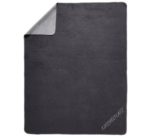WOHNDECKE 150/200 cm  - Silberfarben/Grau, Design, Textil (150/200cm) - Novel