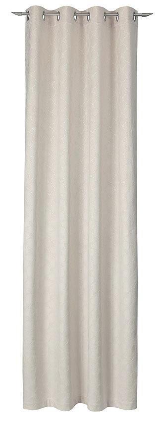 VORHANGSCHAL  blickdicht  140/250 cm - Beige, Design, Textil (140/250cm) - Joop!