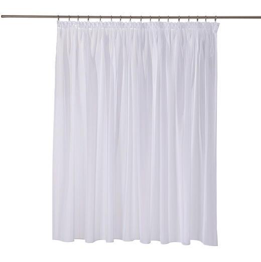 FERTIGSTORE  transparent  300/175 cm - Weiß, Basics, Textil (300/175cm)