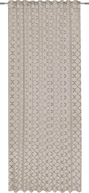 GARDINLÄNGD - sandfärgad, Design, textil (140/245cm) - Esposa