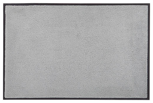 FUßMATTE 75/120 cm Uni Grau - Grau, Basics, Kunststoff/Textil (75/120cm) - Esposa