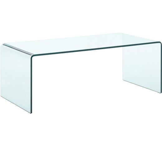 COUCHTISCH in Glas 111/52/40 cm   - Transparent, Design, Glas (111/52/40cm) - Natuzzi