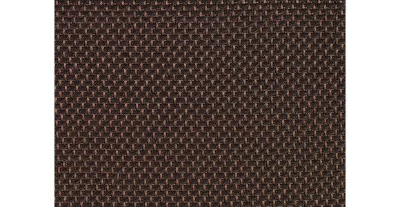 BOXSPRINGBETT Flachgewebe 180/200 cm  INKL. Matratze, Topper - Chromfarben/Dunkelbraun, KONVENTIONELL, Holz/Holzwerkstoff (180/200cm) - Dieter Knoll