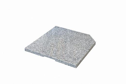 BESCHWERUNGSPLATTE Granit Grau - Grau, Basics, Stein (50/4/50cm) - Doppler