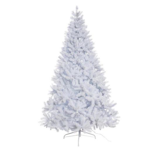 WEIHNACHTSBAUM 210 cm - Weiß, Kunststoff/Metall (210cm)