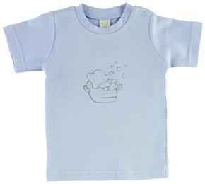 T-SHIRT - ljusblå, Basics, textil (74) - My Baby Lou