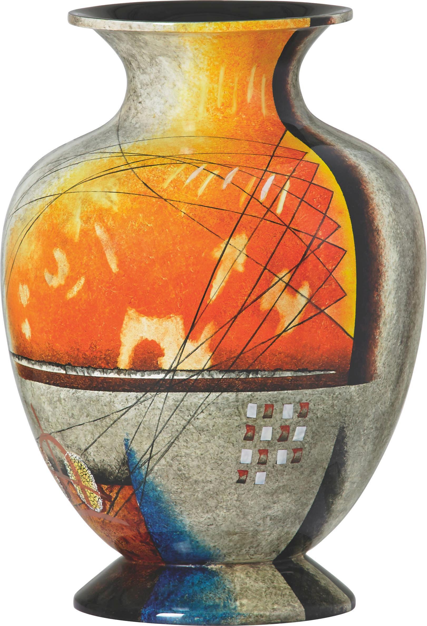 VASE - Multicolor, MODERN, Kunststoff (34/50cm) - XORA