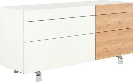 SIDEBOARD 176/70,4/52 cm - Eichefarben/Schwarz, Design, Glas/Holzwerkstoff (176/70,4/52cm) - Hülsta