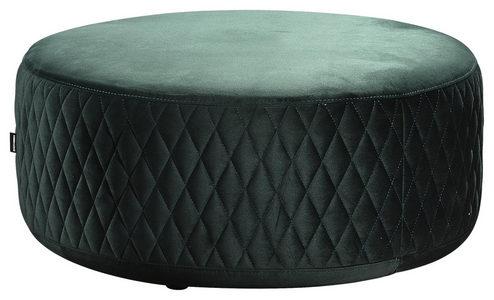 TABURE - Zelena/Crna, Moderno, Tekstil/Drvo (80/36cm) - Carryhome