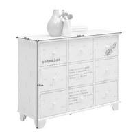 KOMMODE - Weiß, Design, Holzwerkstoff (100/82/40cm) - Carryhome