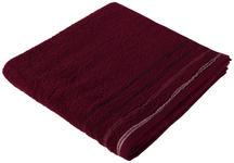 DUSCHTUCH 70/140 cm Bordeaux  - Bordeaux, KONVENTIONELL, Textil (70/140cm) - Esposa