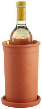 CHLADIČ NA VÍNO - oranžová, Konvenční, keramika (12,5/19,5cm) - Homeware