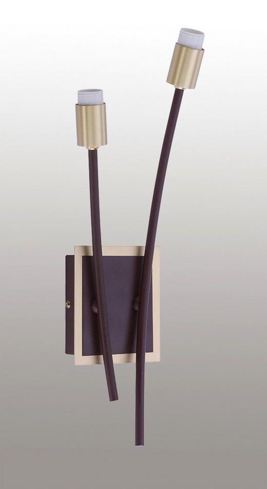 WANDLEUCHTE - KONVENTIONELL, Metall (14/44cm)