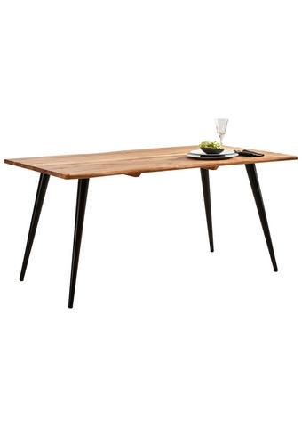 STOL ZA BLAGOVAONICU - boje bagrema/crna, Design, drvo/metal (160/90/76cm) - Ambia Home