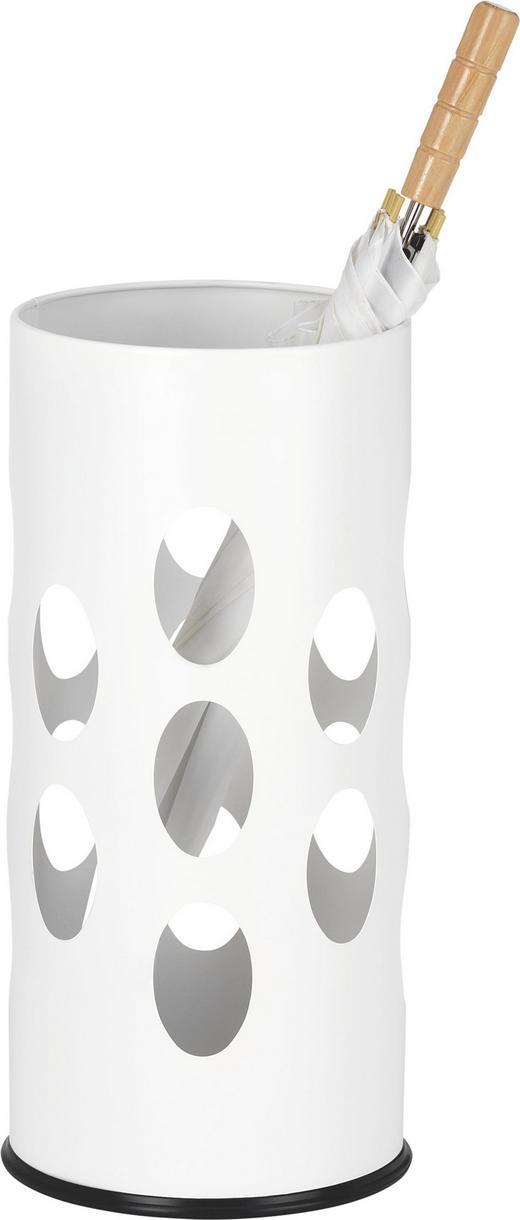 SCHIRMSTÄNDER Metall Weiß - Weiß, Design, Metall (23,50/50/23,50cm) - Boxxx