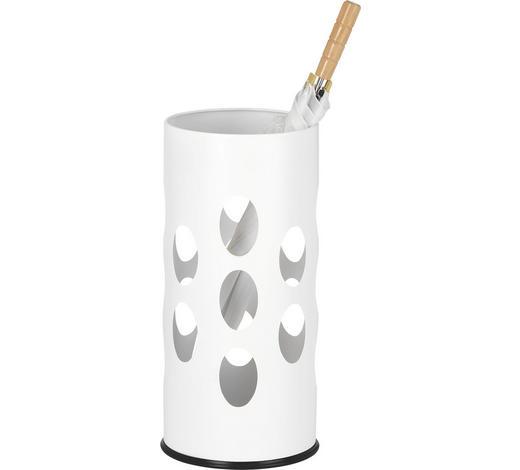 STOJAN NA DEŠTNÍK, bílá - bílá, Design, kov (23,50/50/23,50cm) - Boxxx