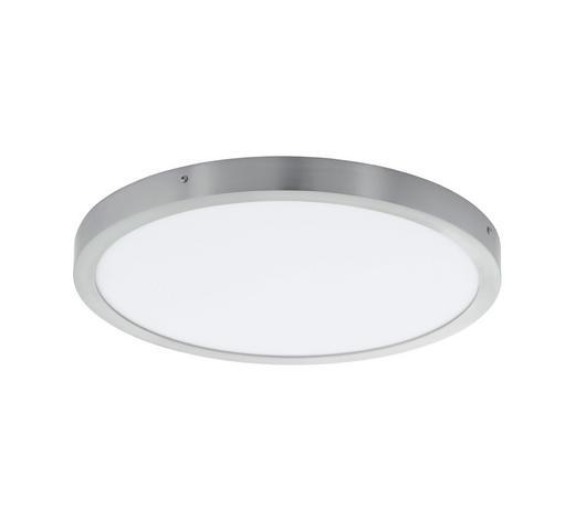 AUFBAULEUCHTE LED-Leuchtmittel - Weiß/Nickelfarben, Design, Kunststoff/Metall (50/3cm)
