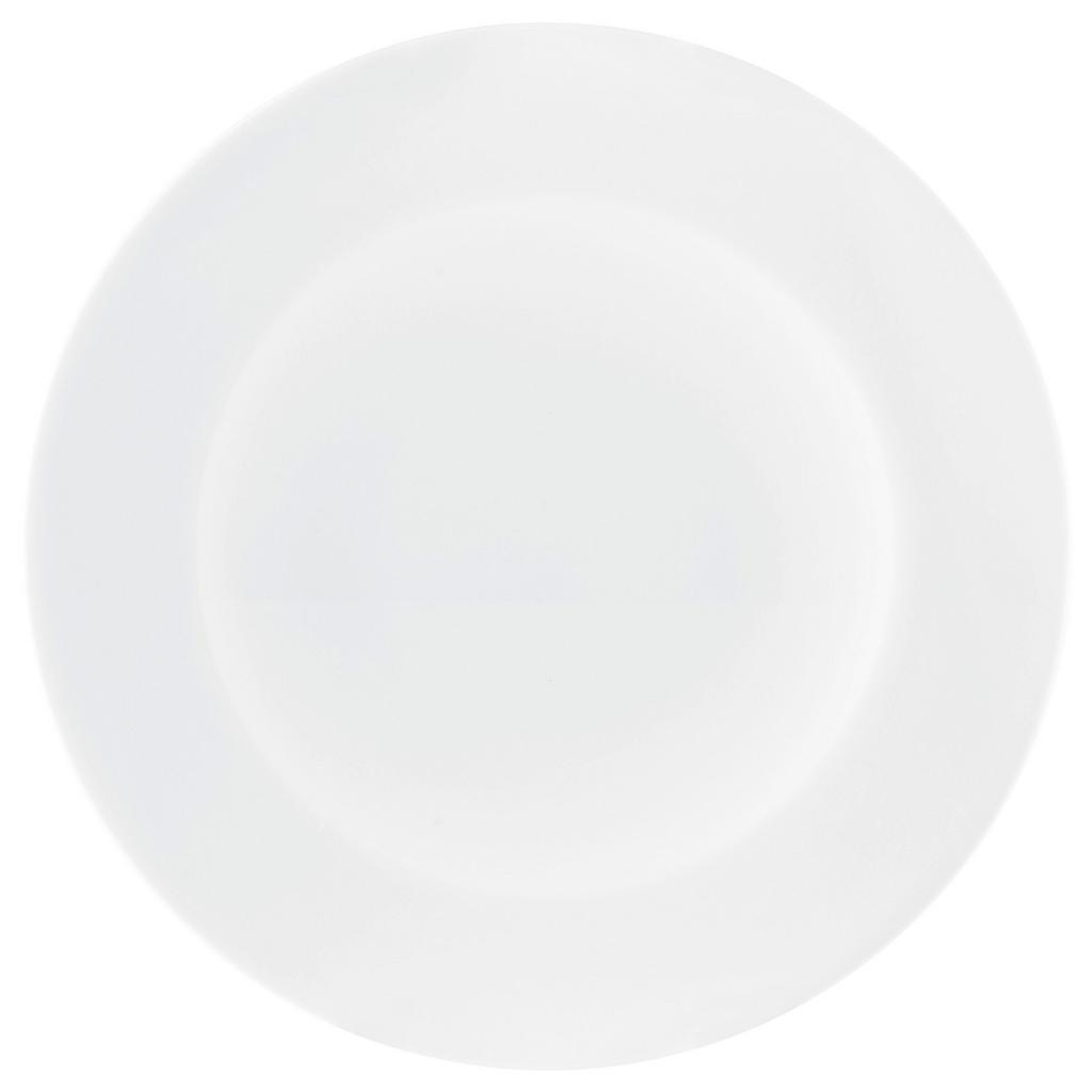 Seltmann Weiden Frühstücksteller Zoe Fine Diamond , Weiß , Keramik , rund , Made in Germany , Essen & Trinken, Geschirr, Speiseteller