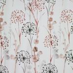 DEKOSTOFF per lfm blickdicht - Beige/Rot, KONVENTIONELL, Textil (140cm) - Esposa