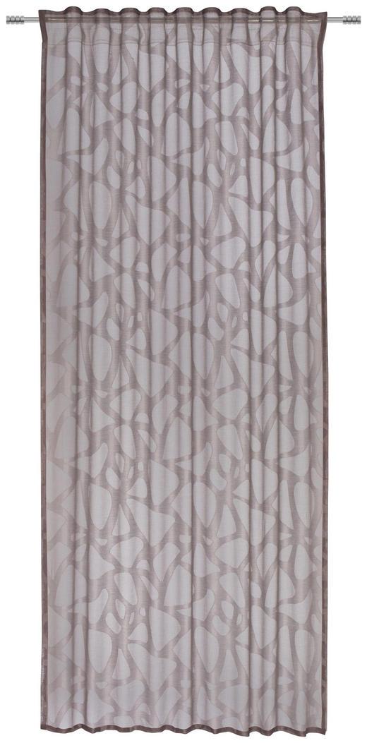 FERTIGVORHANG  halbtransparent  140/245 cm - Taupe, Design, Textil (140/245cm) - Esposa