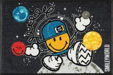 FUßMATTE 50/75 cm Graphik Multicolor, Dunkelgrau - Dunkelgrau/Multicolor, Basics, Kunststoff/Textil (50/75cm) - Esposa