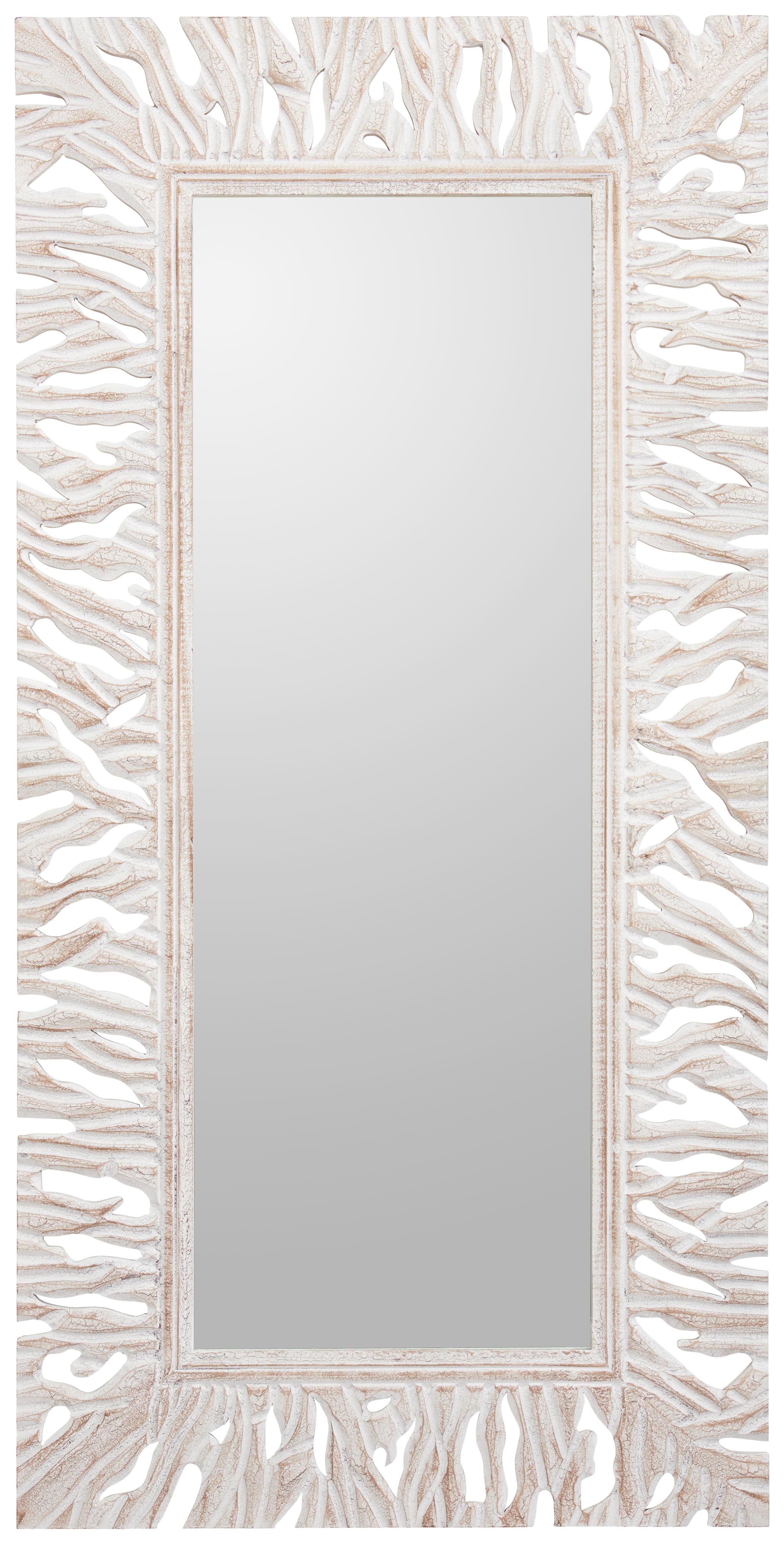 SPIEGEL - Weiß, Trend, Glas/Holzwerkstoff (75/150/2,2cm) - LANDSCAPE