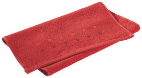 GÄSTHANDDUK - röd, Klassisk, textil (30/50cm) - Esposa
