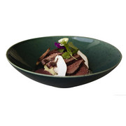 Gurmanski krožnik saisons - zelena, Basics, keramika (23/6,5cm)