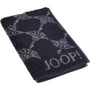 GÄSTETUCH Grau, Schwarz 30/50 cm - Schwarz/Grau, Basics, Textil (30/50cm) - Joop!