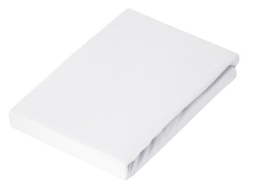 Bettlaken 220/260 cm - Weiß, Basics, Textil (220/260cm) - Schlafgut
