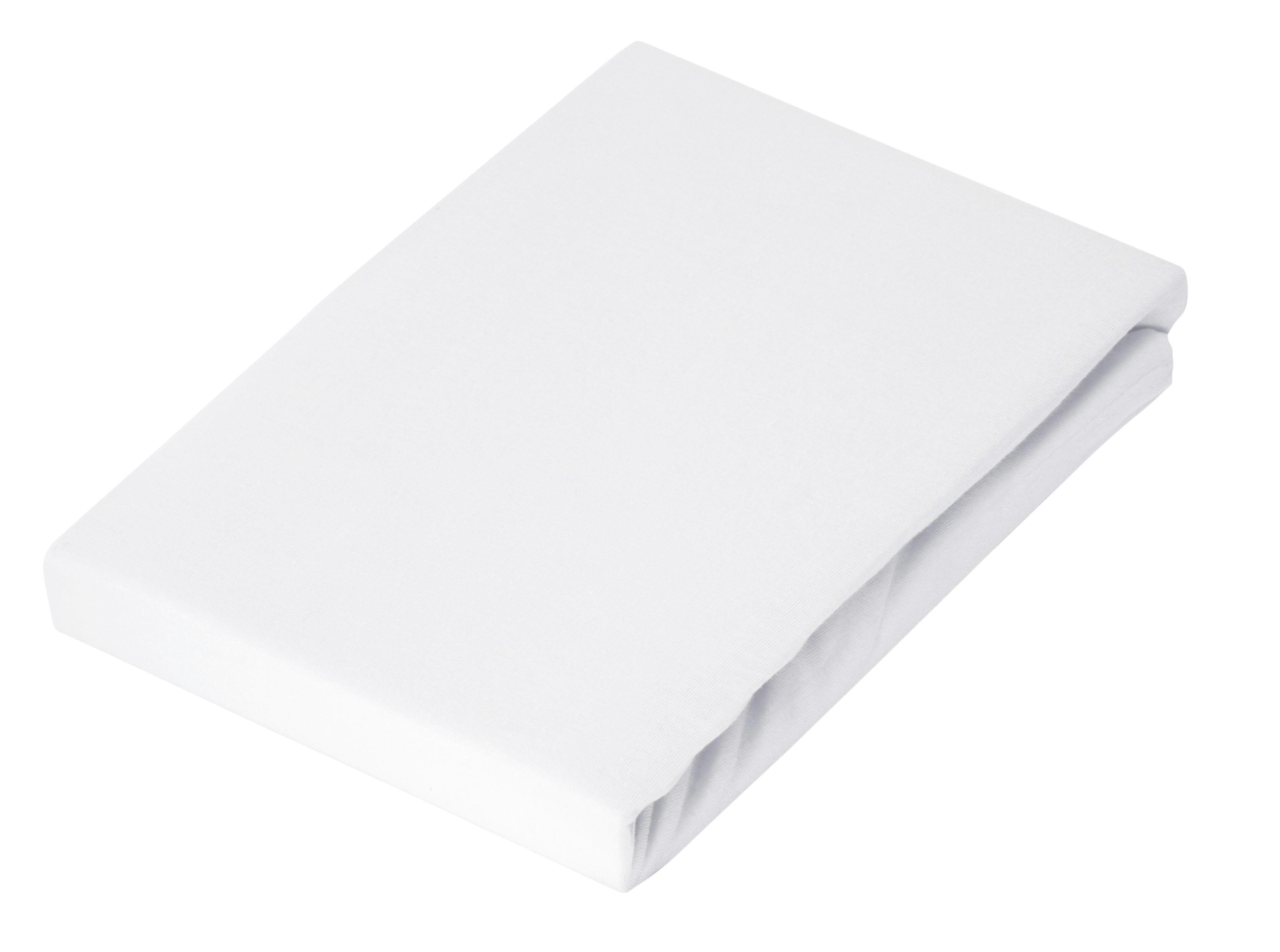 BETTTUCH 220/260 cm - Weiß, Textil (220/260cm) - SCHLAFGUT