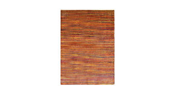 TEPPICH  90/160 cm  Blau, Grün, Orange, Rot - Blau/Rot, Basics, Naturmaterialien/Kunststoff (90/160cm) - Esposa