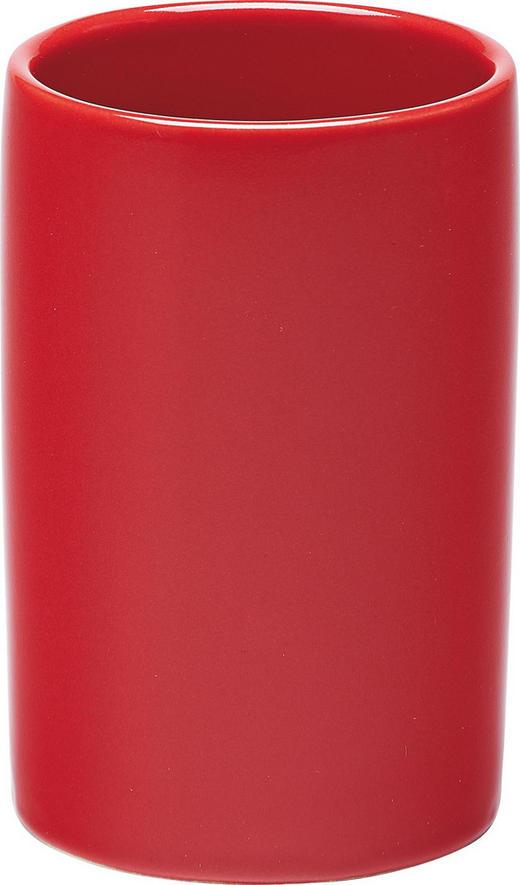 ZAHNPUTZBECHER - Rot, Basics (6/15cm)