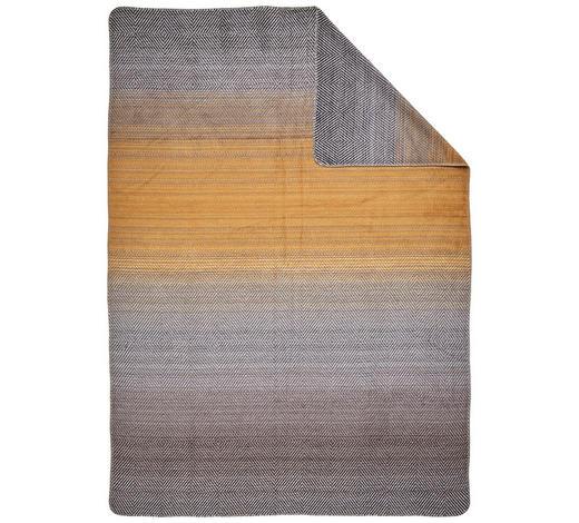 KUSCHELDECKE 150/200 cm - Goldfarben, Design, Textil (150/200cm) - David Fussenegger