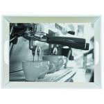 SERVIERTABLETT  34,5/46 cm  - Schwarz/Grau, KONVENTIONELL, Kunststoff (34,5/46cm) - Homeware