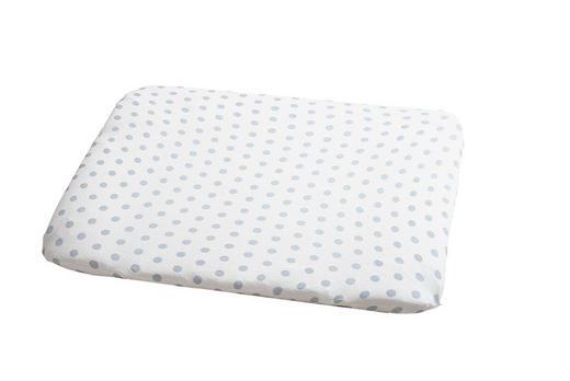 WICKELAUFLAGENBEZUG - Silberfarben/Weiß, Basics, Textil (85/75cm) - Odenwälder