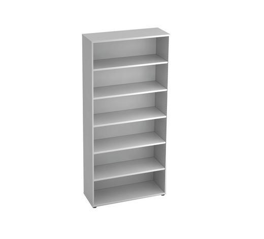 REGAL in Weiß - Schwarz/Weiß, KONVENTIONELL, Holzwerkstoff/Kunststoff (100/215,6/40cm)