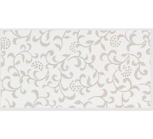 TISCHDECKE - Sandfarben/Weiß, LIFESTYLE, Textil (138cm)