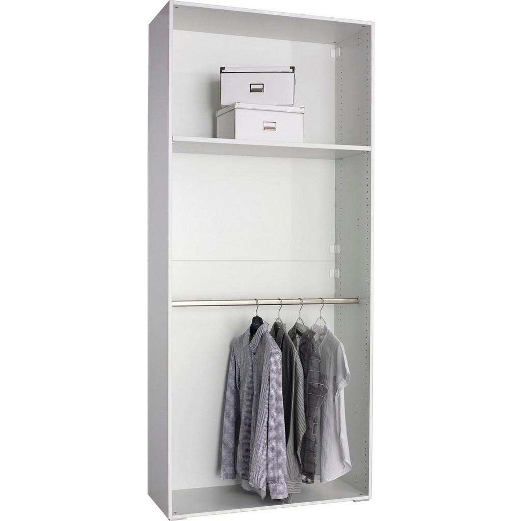 CARRYHOME KLEIDERSCHRANKKORPUS 101/231/41 cm, Weiß bei XXXL Einrichtungshäuser - Shop