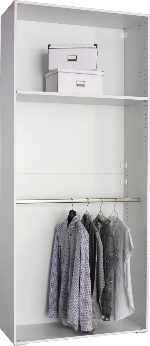 KLEIDERSCHRANKKORPUS 101/231/41 cm - Weiß, Design (101/231/41cm) - CARRYHOME