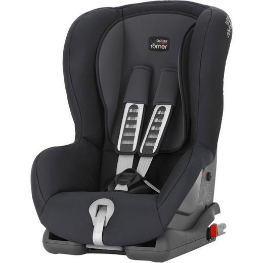 Kinderautositz Duo Plus - Anthrazit/Grau, Basics, Kunststoff/Textil (45/64/46cm) - Römer