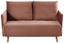 SCHLAFSOFA in Textil Altrosa  - Altrosa/Naturfarben, Design, Holz/Textil (132/82/91cm) - Carryhome