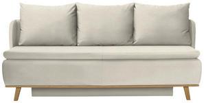 BOXSPRINGSOFA in Textil Naturfarben  - Naturfarben, KONVENTIONELL, Holz/Textil (207/95/121cm) - Venda