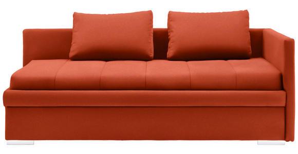 LIEGE Webstoff Rot  - Chromfarben/Rot, KONVENTIONELL, Kunststoff/Textil (217/85/104cm) - Venda