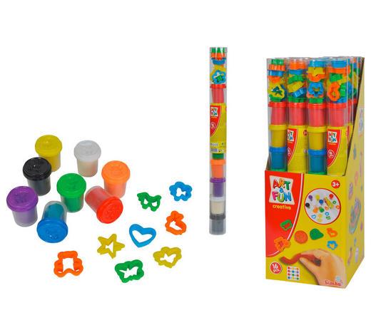 KNETMASSE - Multicolor, Basics, Weitere Naturmaterialien - Simba